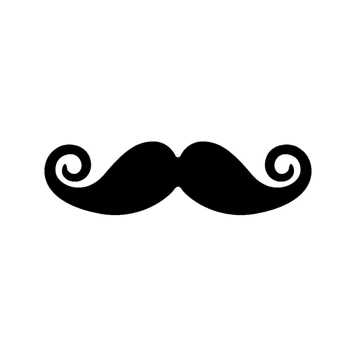 Stickers ordinateurs portables sticker boucles d - Moustache dessin ...