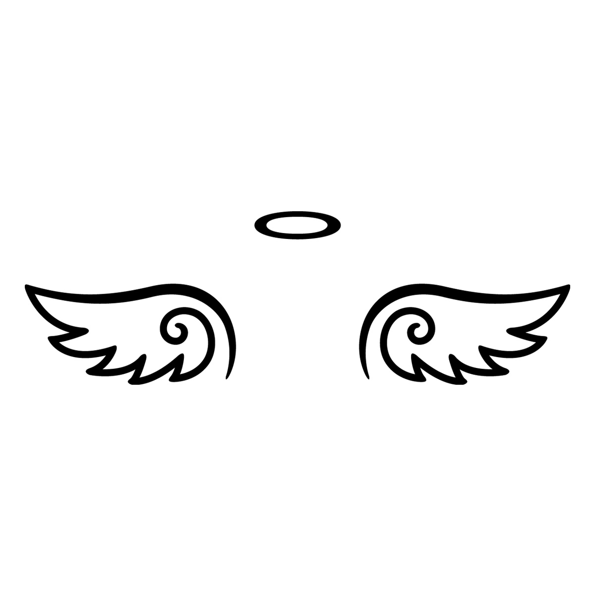 Aile D Ange stickers ordinateurs portables - sticker ailes d'ange   ambiance
