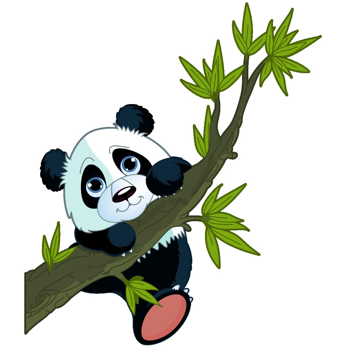 Sticker Animal Panda Perché