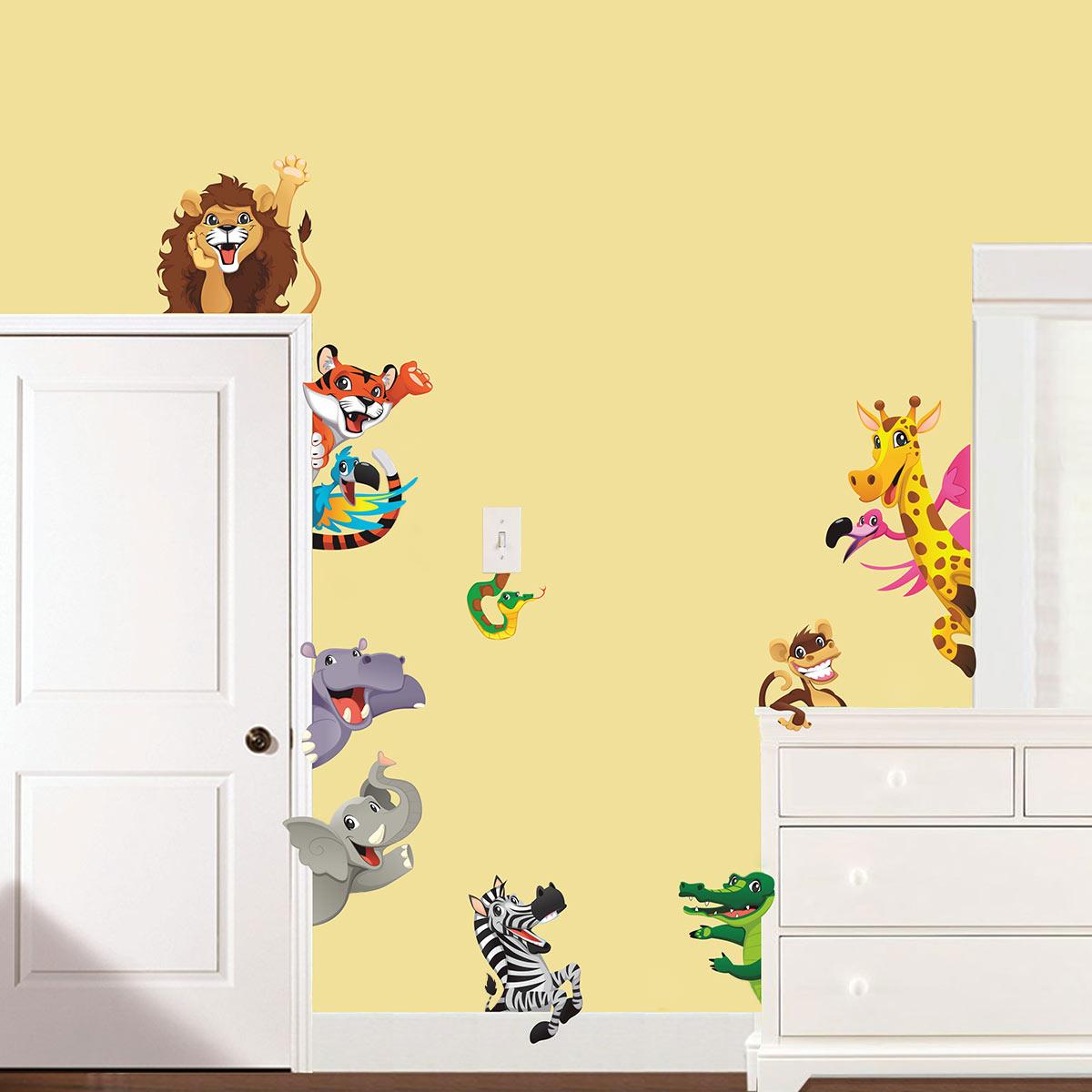 Jungle Kids Room Theme