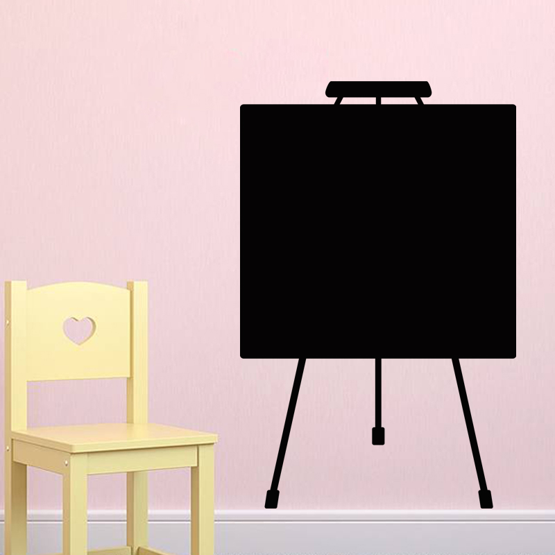 Sticker ardoise Design tableau de peinture - stickers Salle de jeux ...