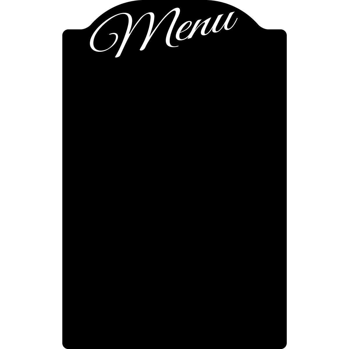 stickers tableaux et ardoises sticker ardoise tableau de menu restaurant ambiance. Black Bedroom Furniture Sets. Home Design Ideas