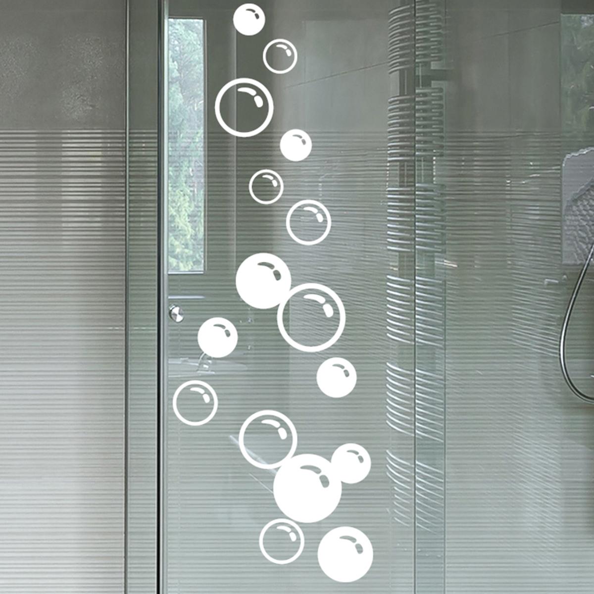 Stickers muraux pour salle de bain sticker mural bulles - Stickers pour carreaux salle de bain ...
