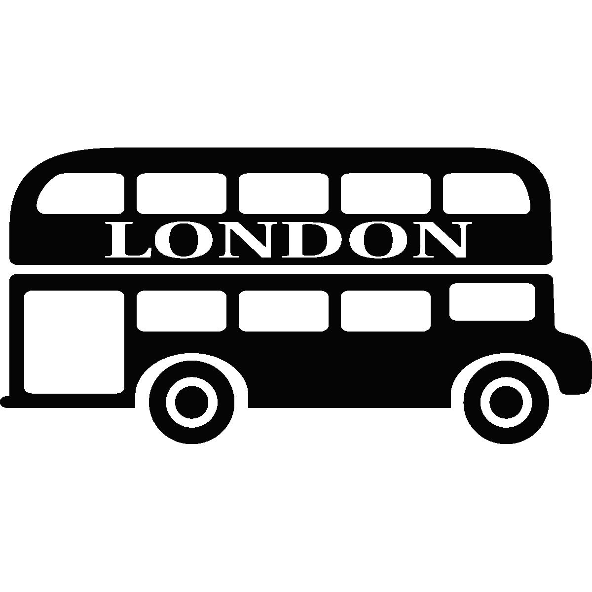 Sticker Bus De Londres 2