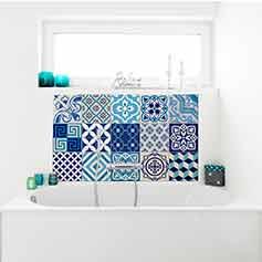 Autocollant Pour Carrelage stickers carrelage salle de bain – stickers carrelage – ambiance-sticker