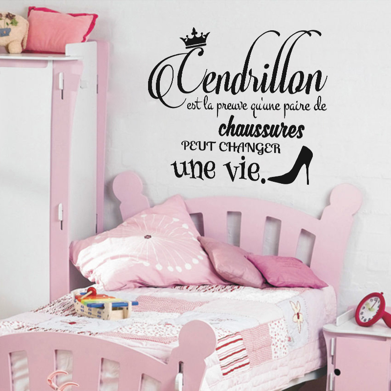 sticker citation cendrillon