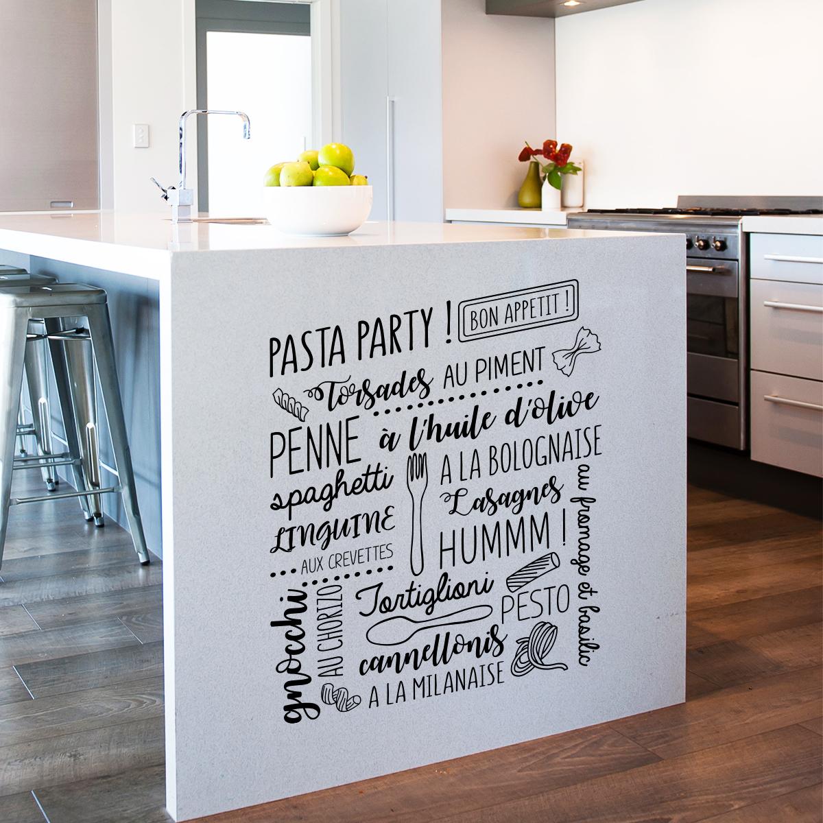 Casser Un Bar De Cuisine https://www.ambiance-sticker/en/wall-decal-bon-appetite