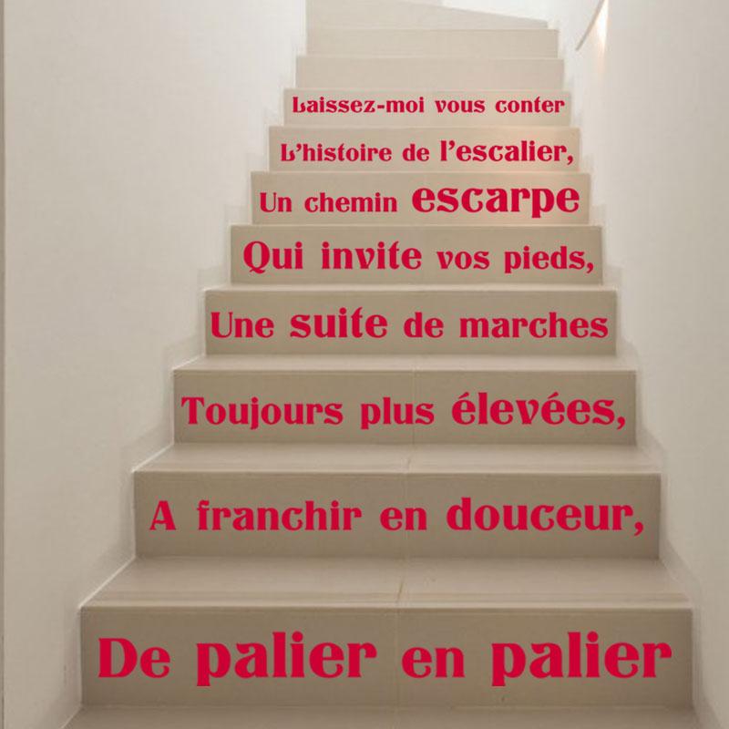 Citation Escaliers Laissez moi vous Conter