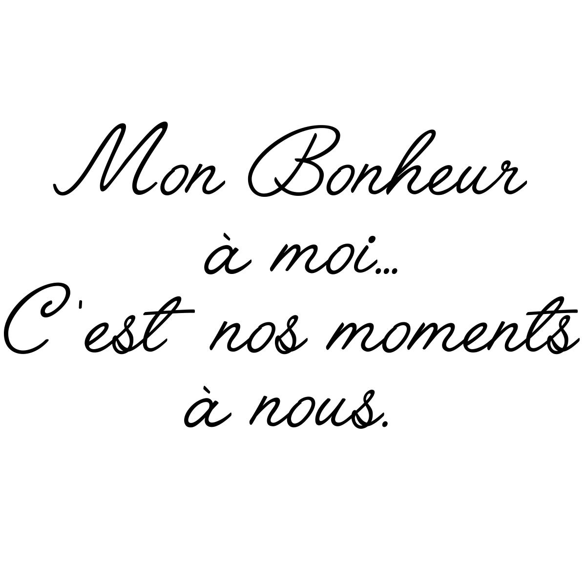 Citation Bonheur Famille Amour