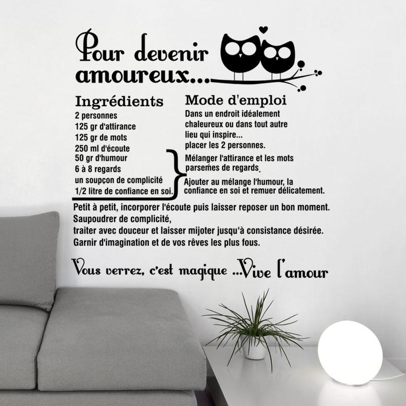 Sticker Citation Pour Devenir Amoureux