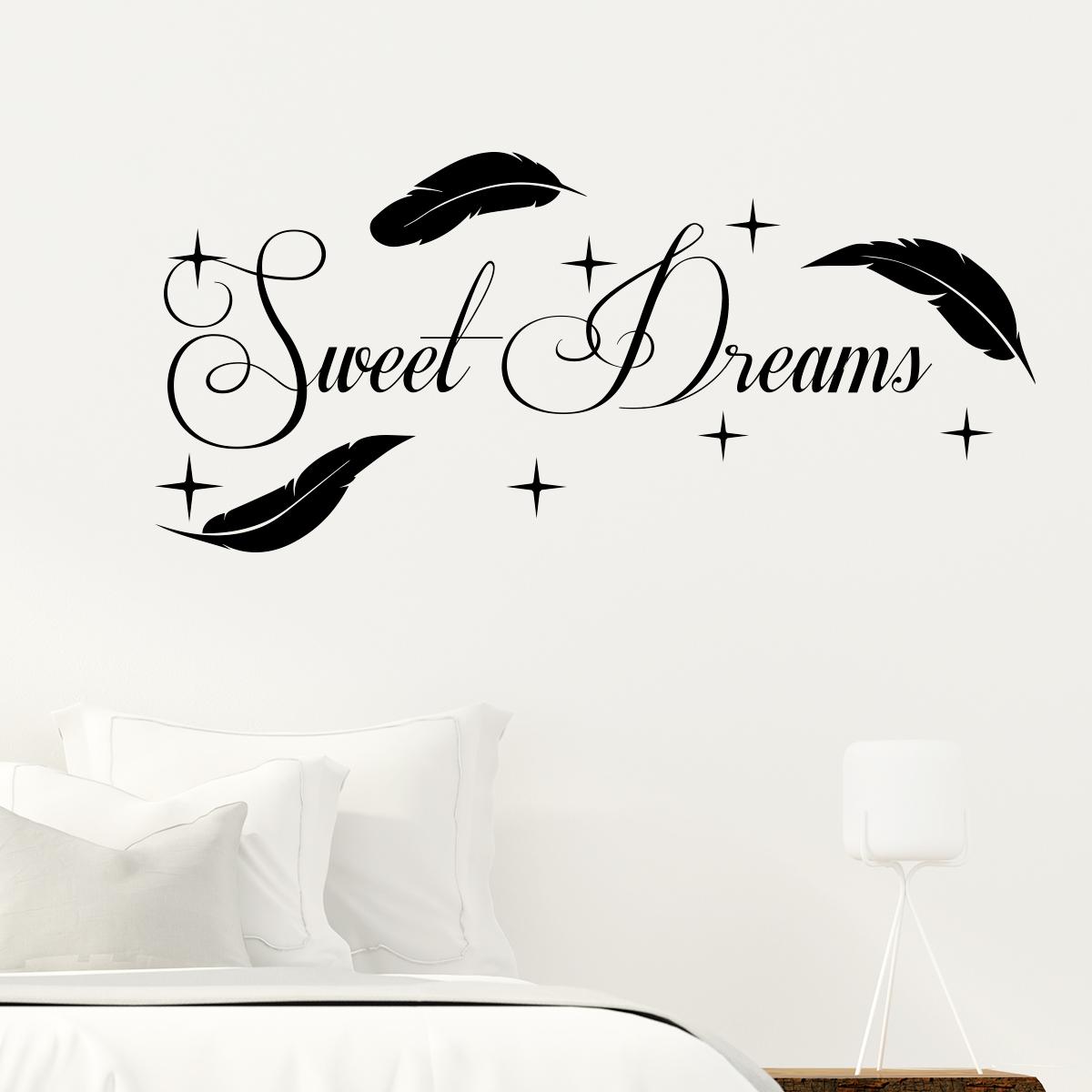 Fabulous Sticker citation Sweet dreams – Stickers Citations Anglais  HV69