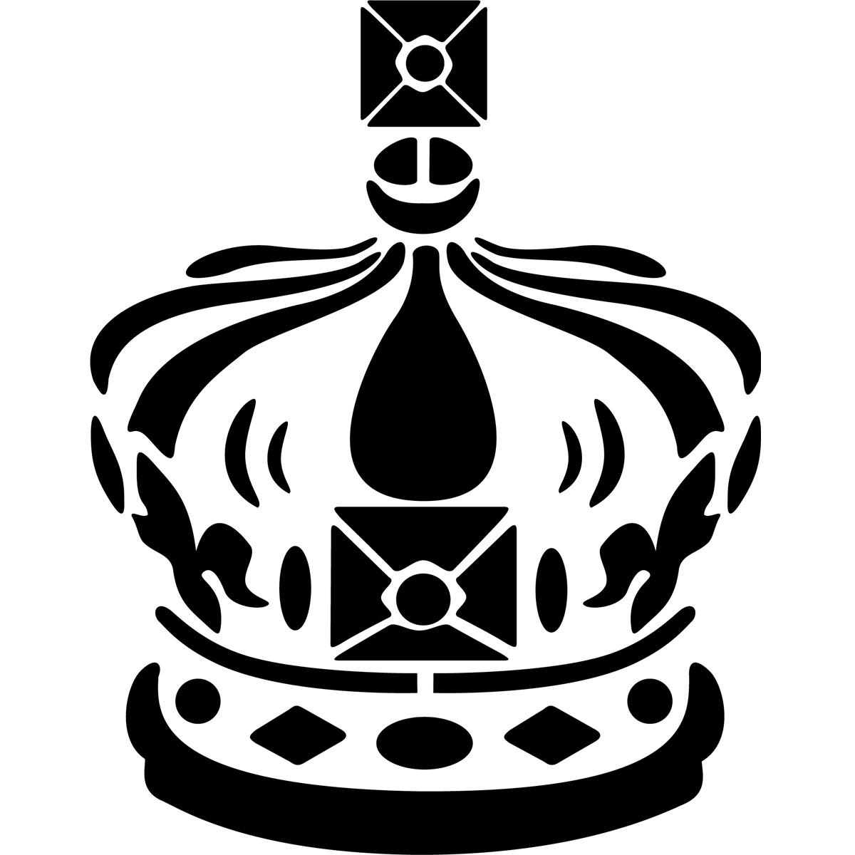 Papier Peint Adhesif : Stickers muraux londres sticker couronne royale