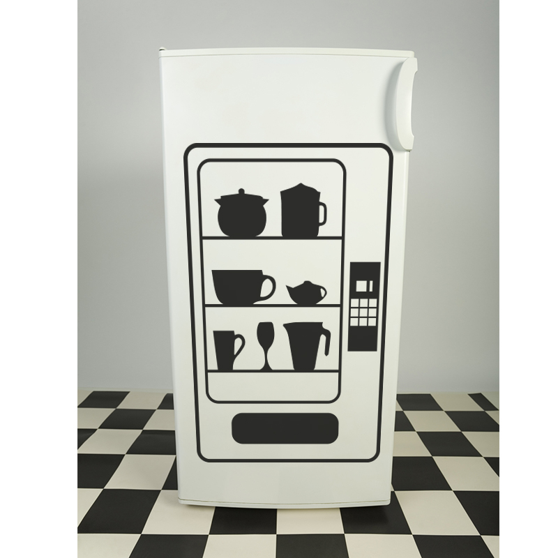Stickers muraux pour la cuisine sticker distributeur Stickers pour la cuisine