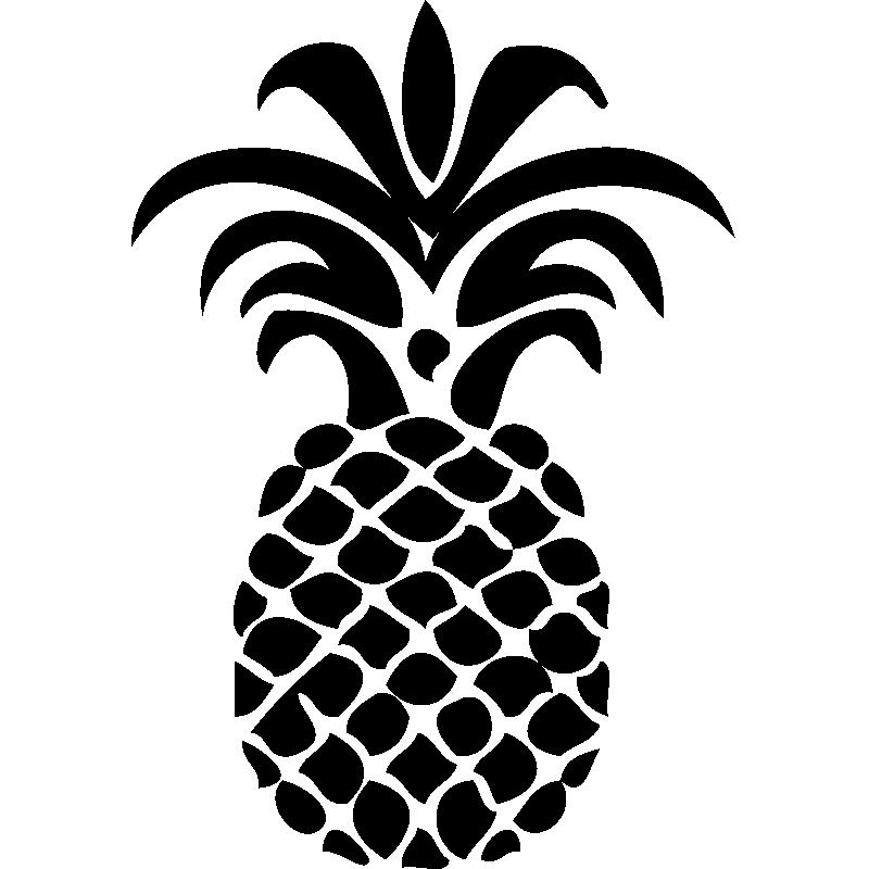 Sticker Design Ananas