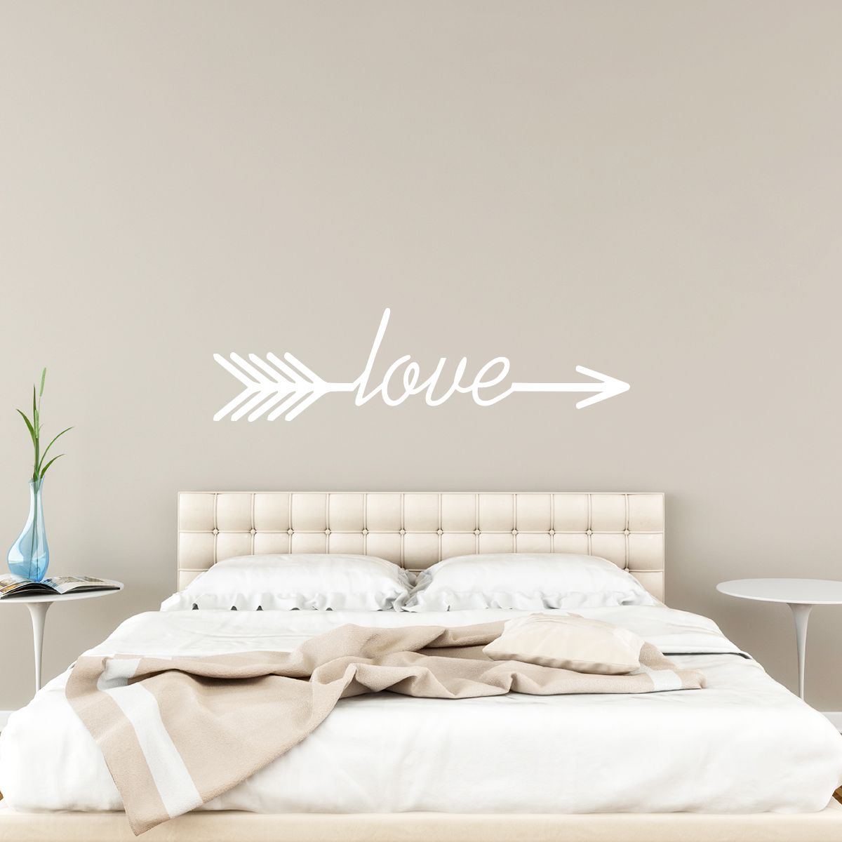 Tete De Lit Orientale Maison Du Monde sticker design flêche love