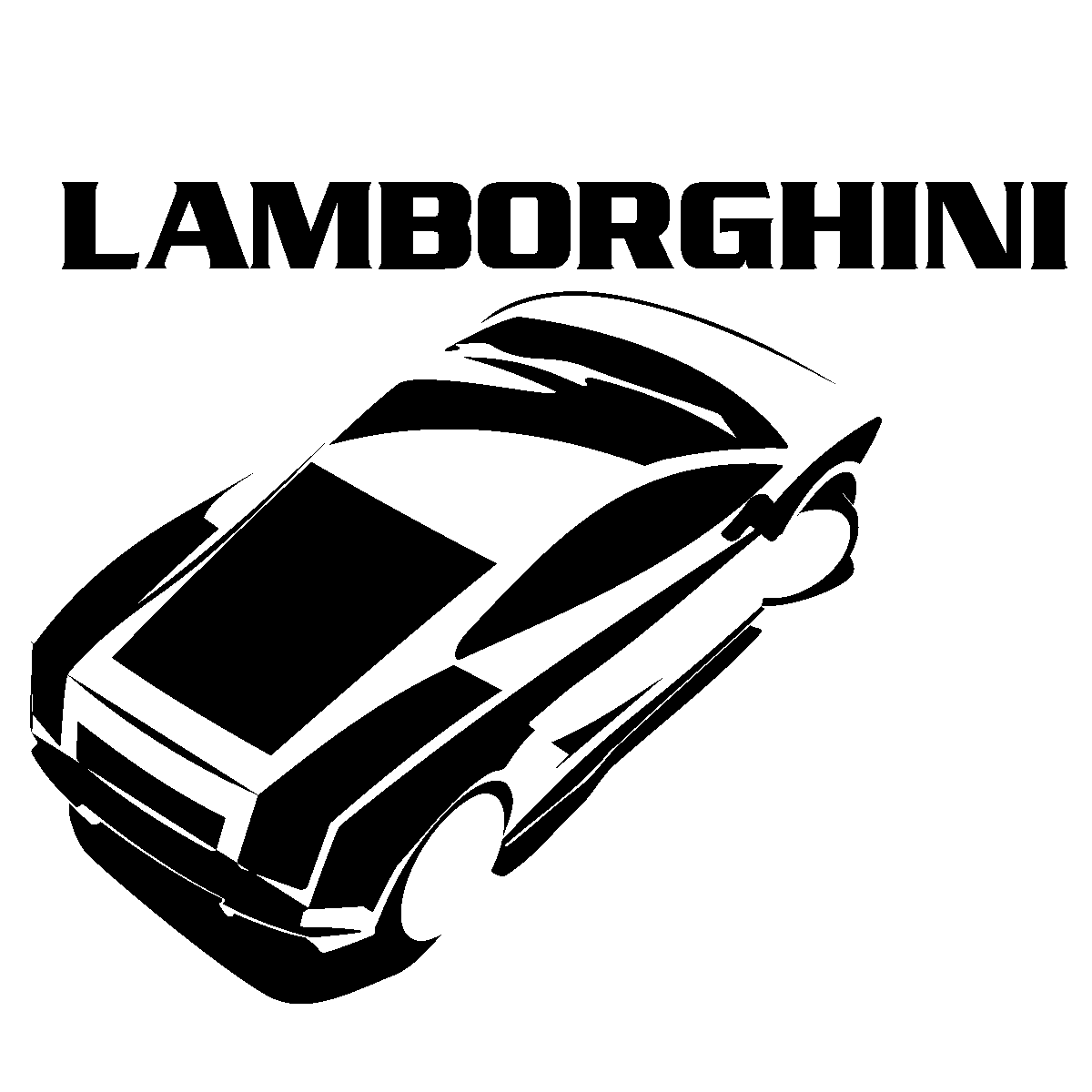 Stickers muraux design sticker mural design lamborghini ambiance sticker com