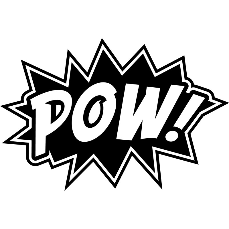 Sticker Design Pow Stickers Stickers Chambre Ado