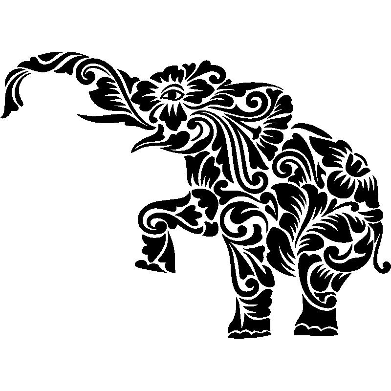 African allongé Zèbre Éléphant Girafe Masque Mural Sculpture Animal Tribal Art