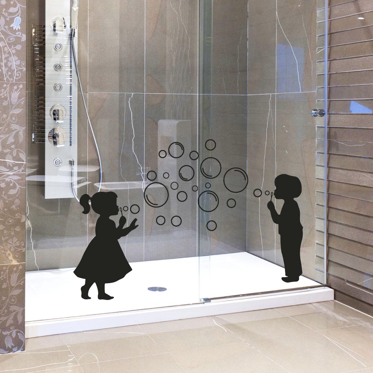 stickers muraux pour salle de bain sticker mural fille. Black Bedroom Furniture Sets. Home Design Ideas