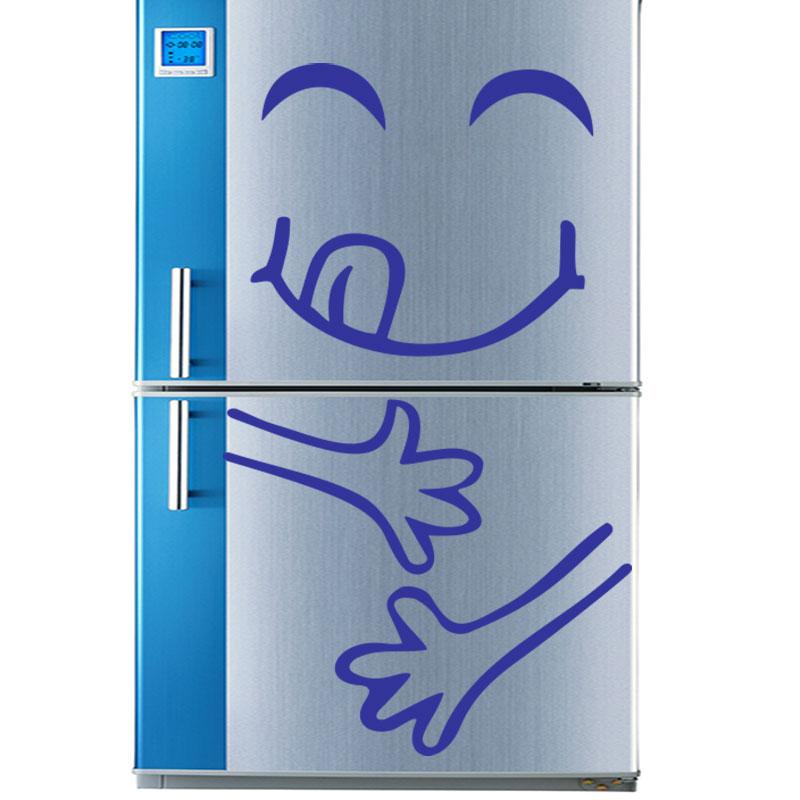 Adesivo frigo smiley sazio - Adesivo murali ADESIVI BAMBINI -  ambiance-sticker