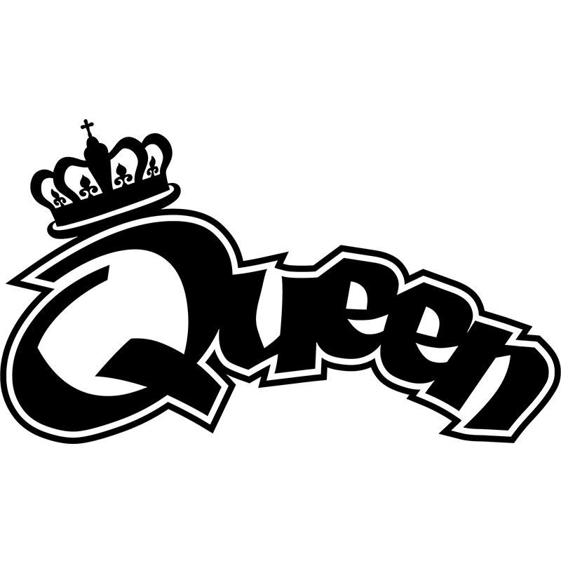 Sticker Graffiti Sticker Graffiti Queen Ambiance