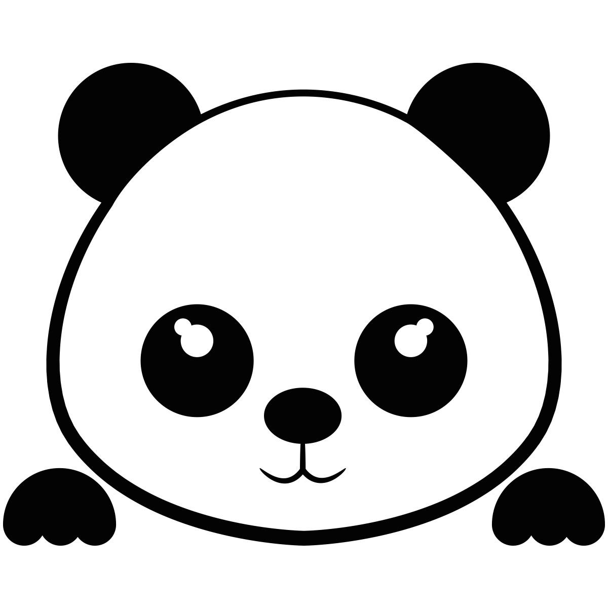 Sticker interrupteur panda mignon - Stickers CHAMBRE ...
