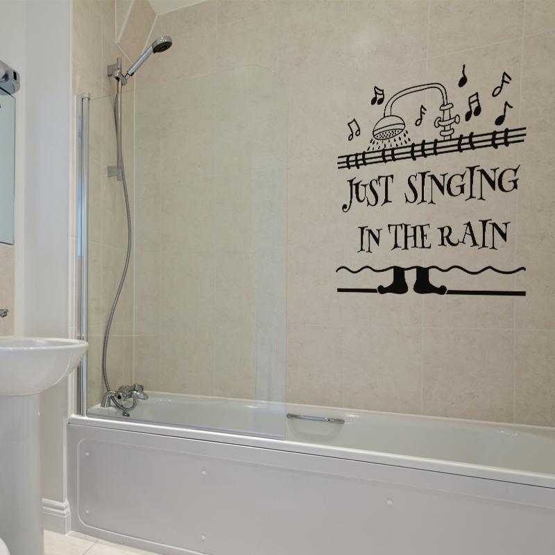 Sticker Just Singing In The Rain