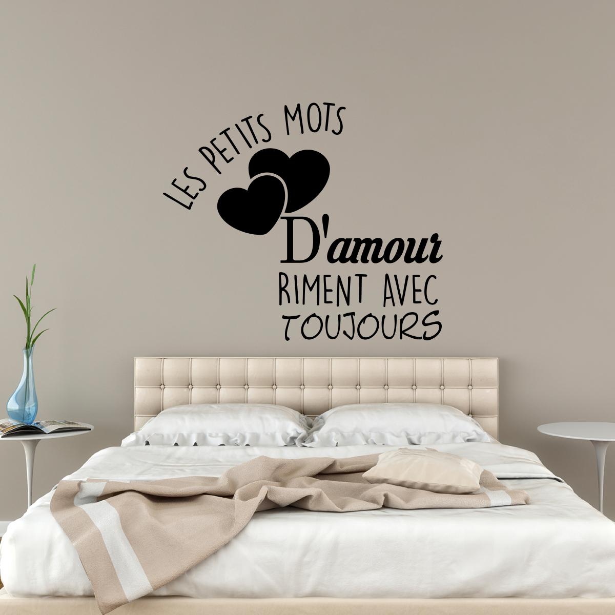 Sticker Les Petits Mots D Amour Stickers Citations