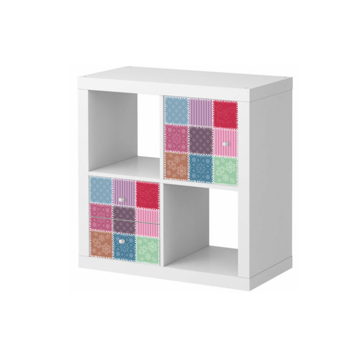 Stickers meubles ikea stickers meubles ikea patchwork ambiance for Meuble ikea 3d
