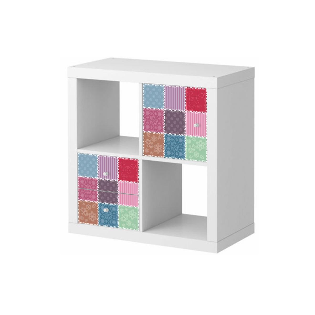 stickers meubles ikea stickers meubles ikea patchwork. Black Bedroom Furniture Sets. Home Design Ideas