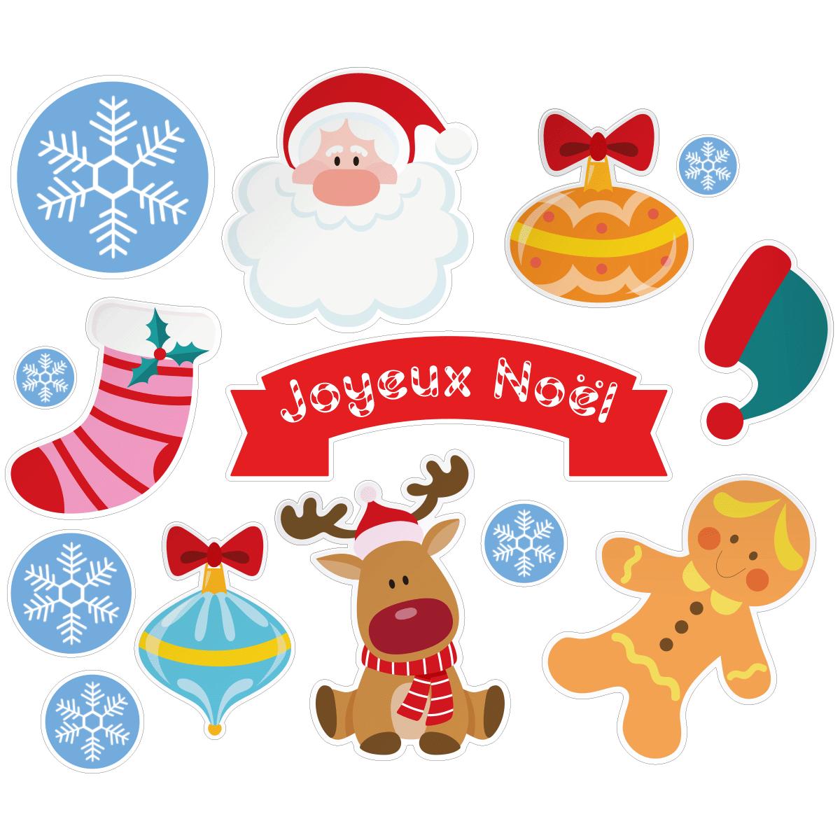 Sticker Noël décorations pour enfants – Stickers STICKERS ...