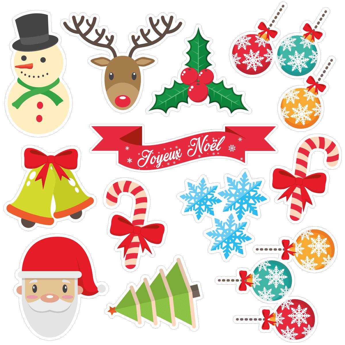 Chanson Joyeux Noel.Sticker Noel Joyeux Noel Pour Enfant