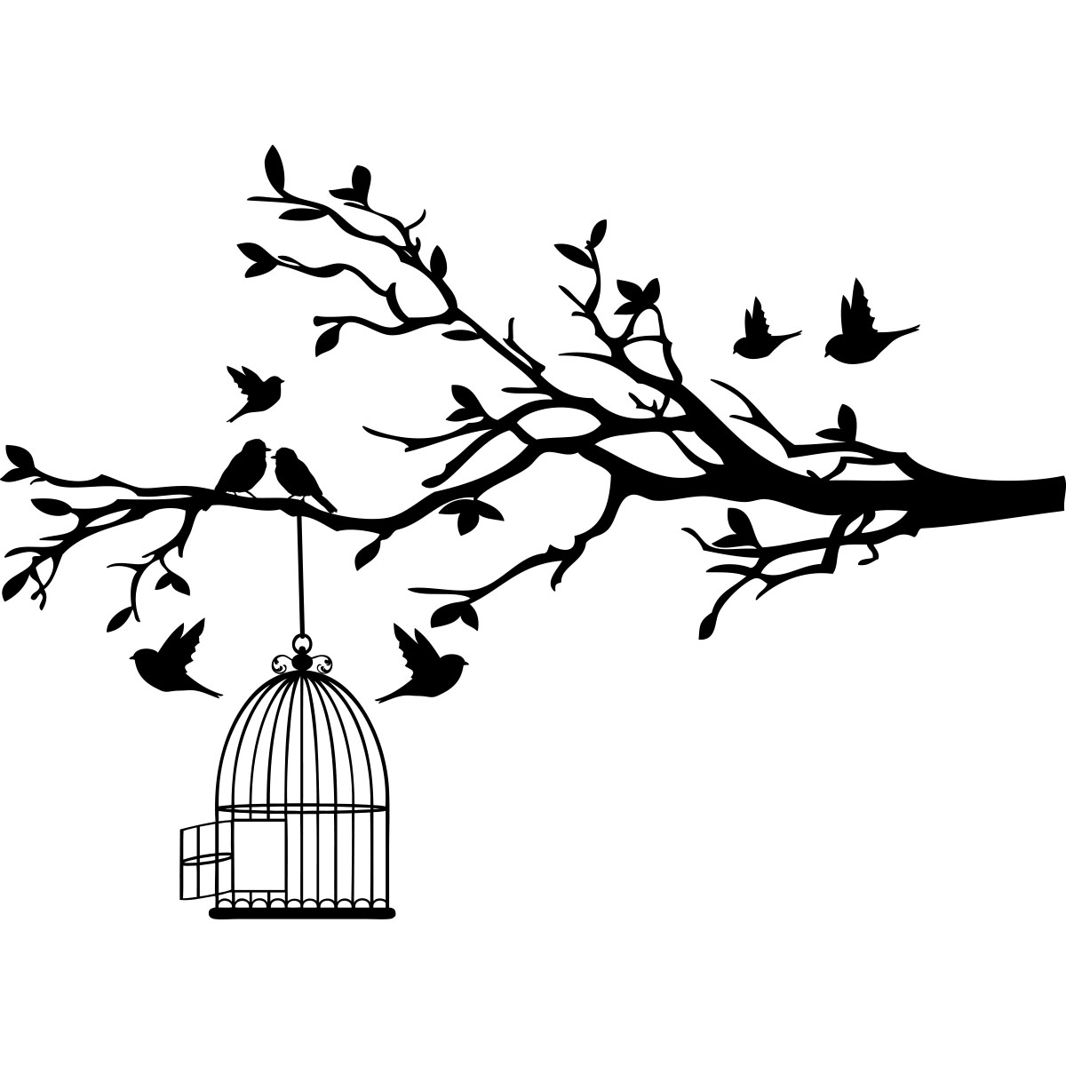 Dessin Maison D Oiseau Dernier B