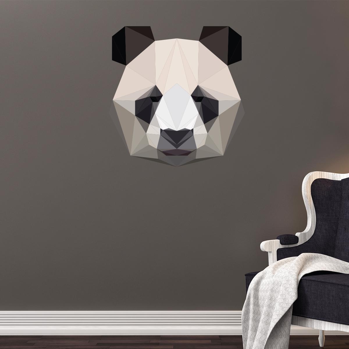 Https Www Ambiance Sticker Com En Wall Sticker Origami 3d Black