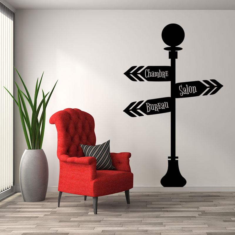 sticker panneaux chambre salon bureau stickers