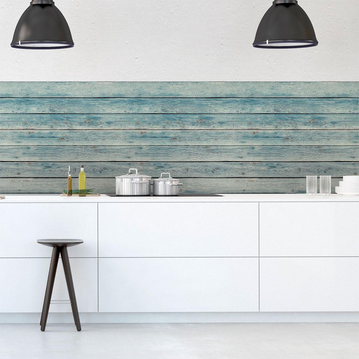 sticker papier peint bois bord de mer salon design ambiance sticker. Black Bedroom Furniture Sets. Home Design Ideas
