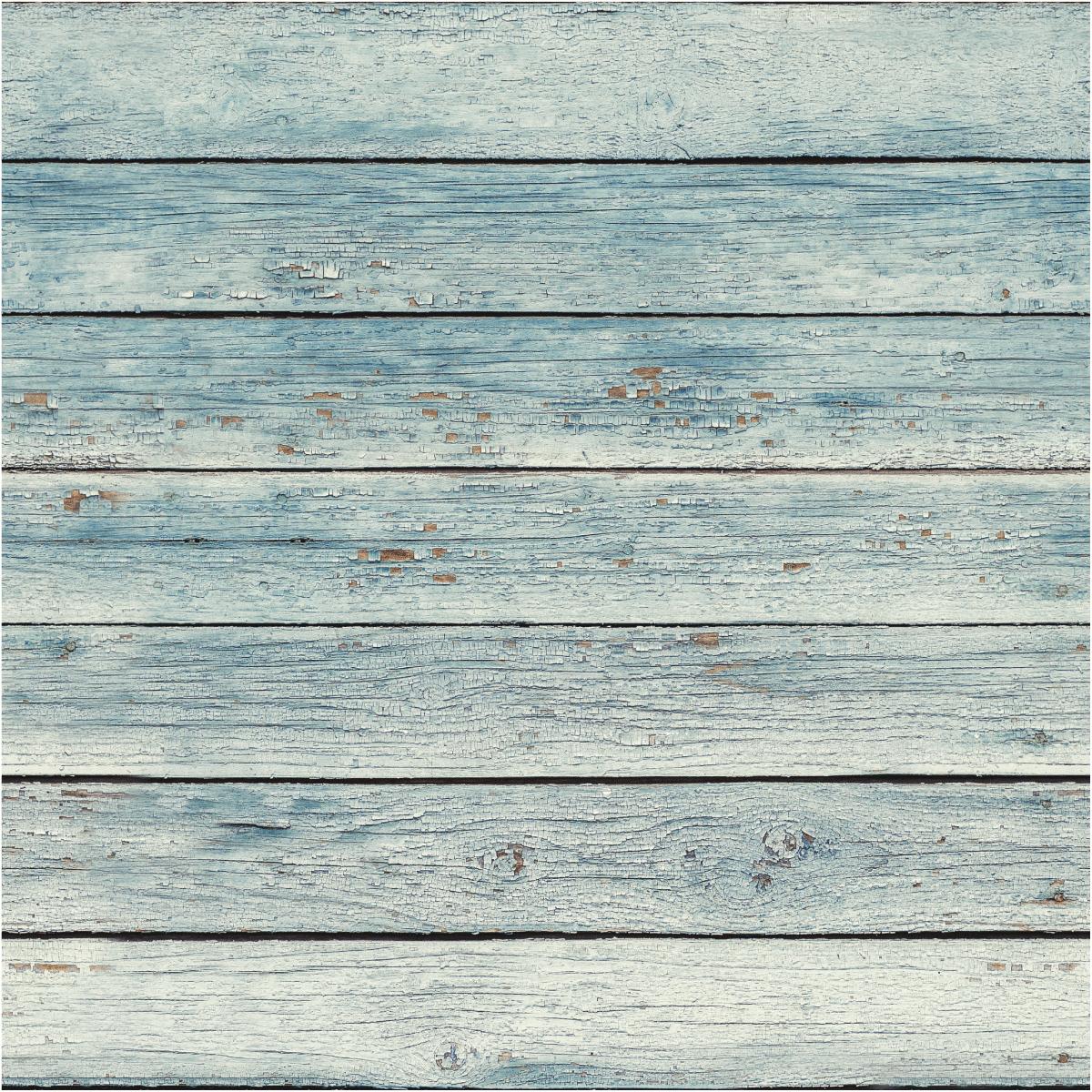 Sticker papier peint bois bord de mer salon design ambiance sticker - Stickers pour meuble en bois ...