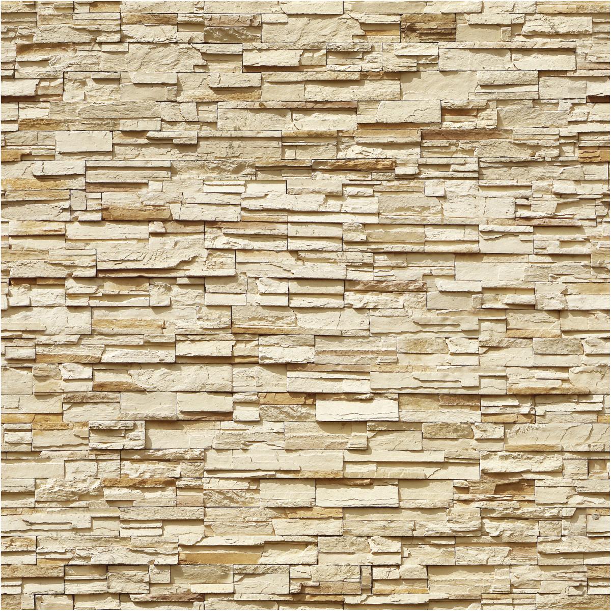 Sticker papier peint parement de pierres de Perpignan – SALON