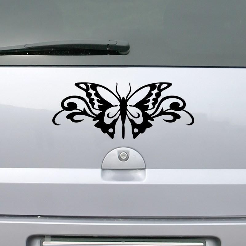 stickers et autocollants voiture sticker papillon ambiance. Black Bedroom Furniture Sets. Home Design Ideas