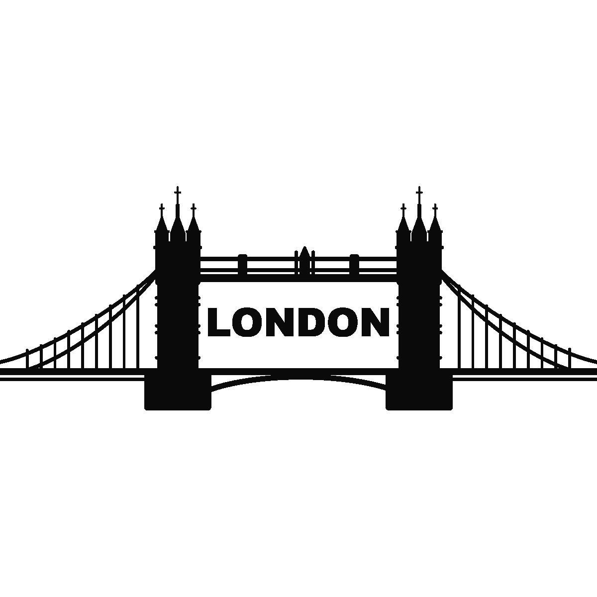 Stickers muraux pays et villes sticker pont de londres 2 - Image de londres a imprimer gratuit ...