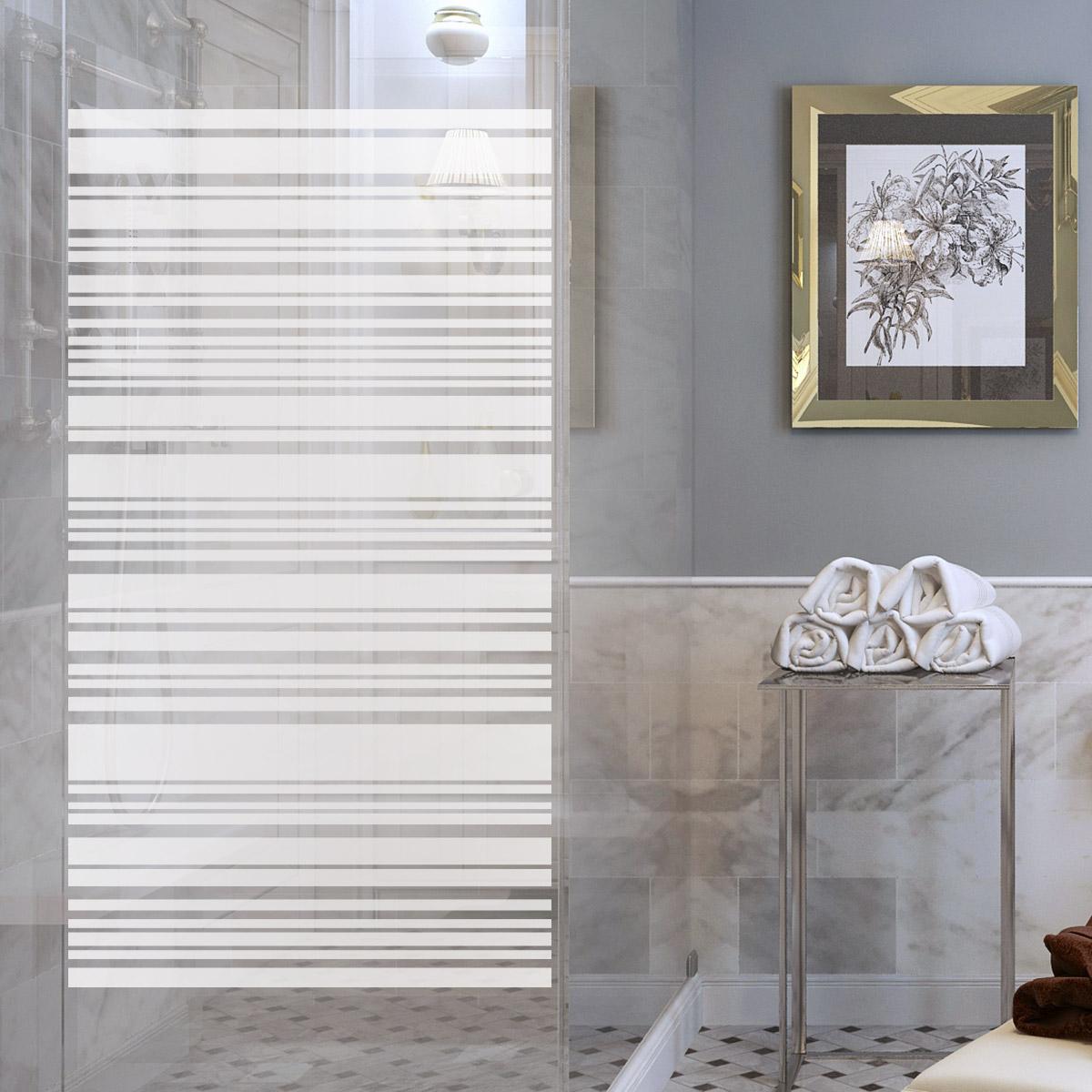 Shower Door Wall Decal Design Aligné Decals Quote