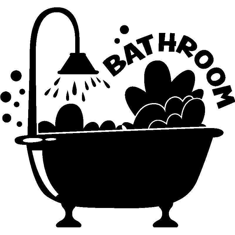 Sticker porte salle de bain moussant stickers stickers art et design bulles et cercles - Stickers porte salle de bain ...