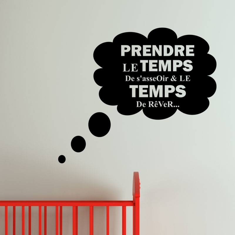 sticker prendre le temps de rever stickers stickers