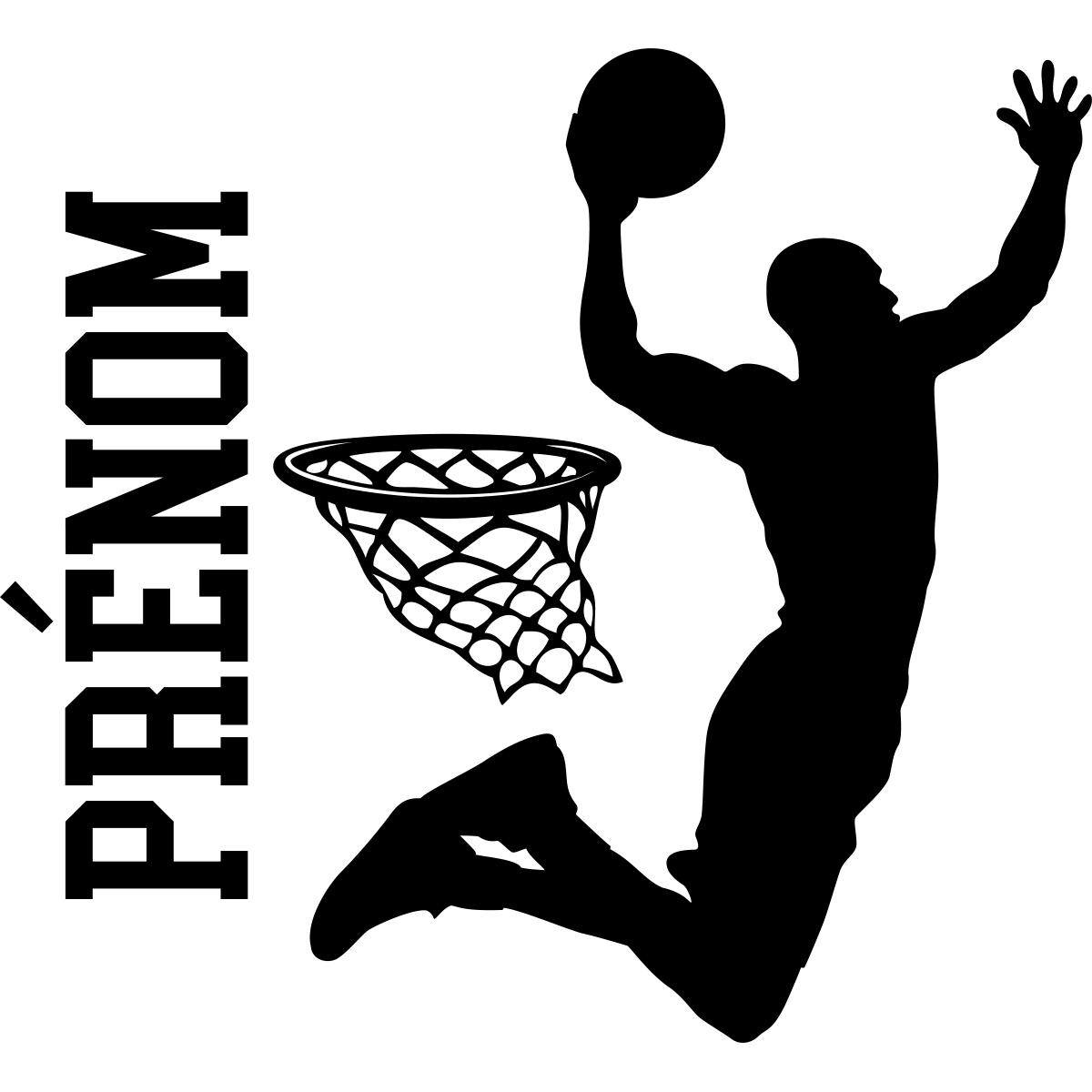Wunderschön Wandtattoo Basketball Beste Wahl Sticker-prenom-personnalise-basketteur-ambiance-sticker-name_si_0714.png