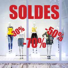 Vitrines Soldes & Promos