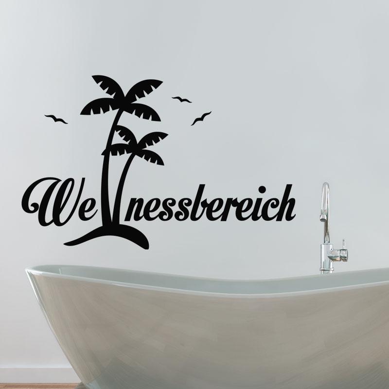 Sticker salle de bain citation we nassbereich stickers stickers citations allemand ambiance - Citation salle de bain ...