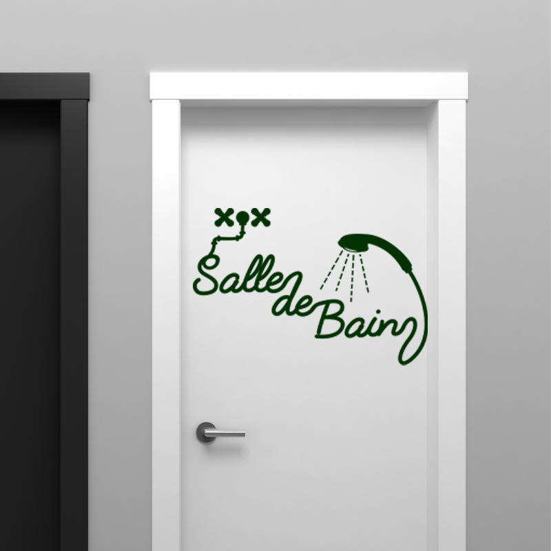 Sticker Salle De Bain Douche – Stickers STICKERS SALLE DE