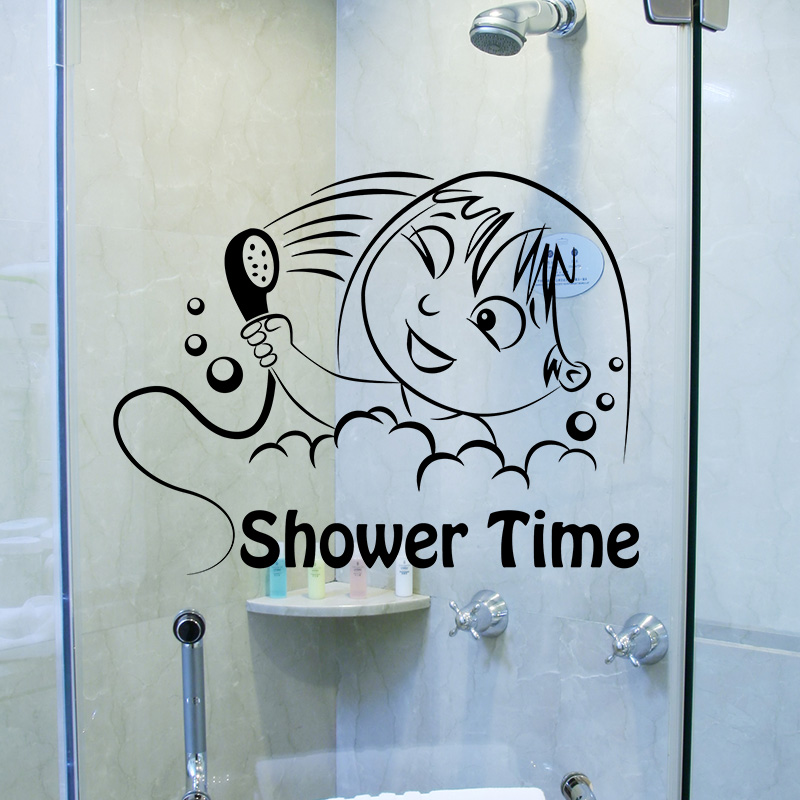 Sticker Shower time