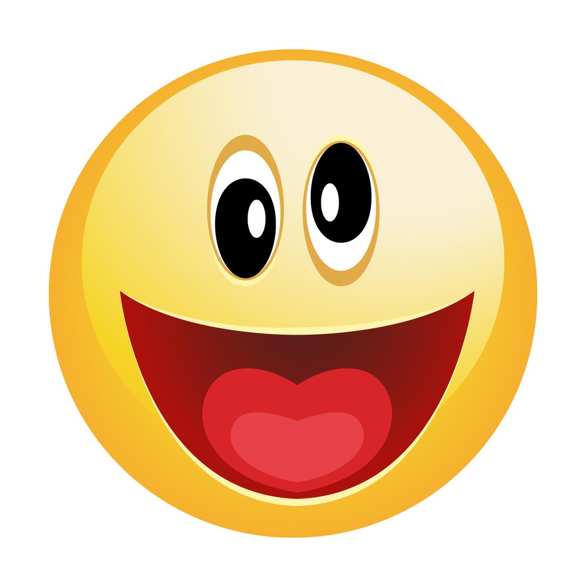 Stickers muraux pour les enfants sticker smiley fou heureux ambiance sticker com