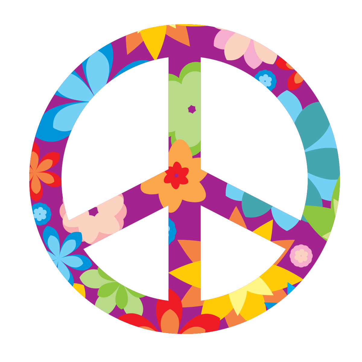 Sticker voiture insigne peace and love stickers citations anglais ambiance sticker - Dessin peace and love ...